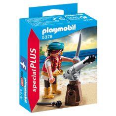 Playmobil Kalóz ágyúval, Kalózok, 10 darab