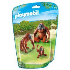 Playmobil Orangutáni s mláďaťom , 3 figúrky
