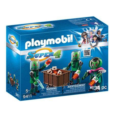 Playmobil Mieszkańcy Sykronie , Super 4, 34 sztuki