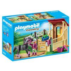 Playmobil Box pre Arabského koňa Playmobil, Jazdecký dvor, 50 dielikov