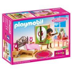 Playmobil Spálňa s toaletným stolíkom , Dom pre bábiky, 24 dielikov