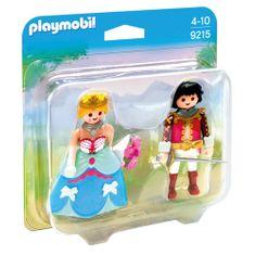 Playmobil Duo Pack Princ a princezna , Zámek, 21 dílků