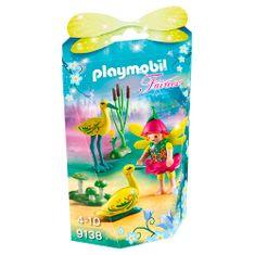 Playmobil Tündér és barátai gólya , Tündérek és egyszarvúak, 21 darab