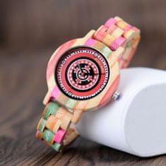 Belmonde Dřevěné hodinky Beatrice 6888