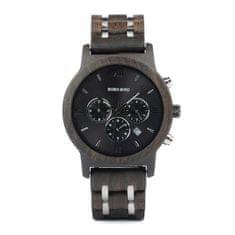 Belmonde Dřevěné hodinky Edmond
