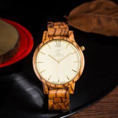 Belmonde Dřevěné hodinky Bastien