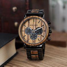 Belmonde Dřevěné hodinky Jerome