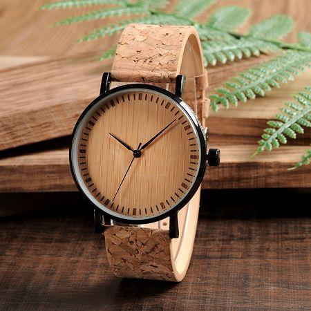 Belmonde Dřevěné hodinky Leontine 9044