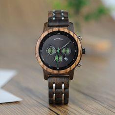Belmonde Dřevěné hodinky Julien
