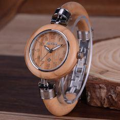 Belmonde Dřevěné hodinky Aurore