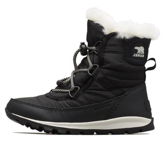 Sorel dívčí sněhule Youth Whitneyshort Lace 1767401011 1 černá