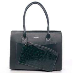 David Jones Stylová módní dámská kabelka Valéry zelená