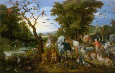 D-Toys Puzzle 1000 dílků Brueghel Pieter - Noah's Ark