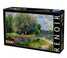 D-Toys Puzzle 1000 db Auguste Renoir - Chestnut Tree in Bloom