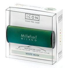 Millefiori Milano ICON vůně do auta White Musk 47 g