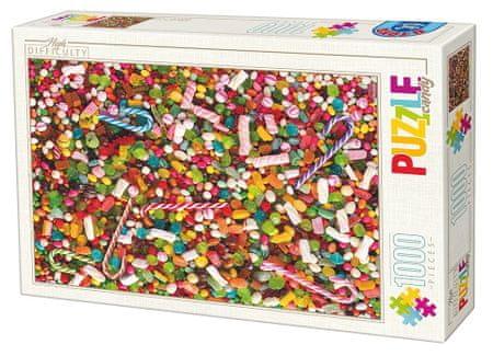 D-Toys Puzzle 1000 db Puzzle Difficile : Bonbons