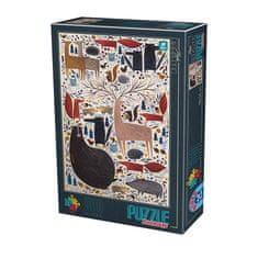D-Toys Puzzle 500 dílků Andrea Kürti - Wild Animals