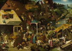 D-Toys Brueghel: Netherlandish Proverbs 1000 dielikov