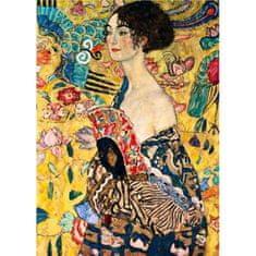 D-Toys Klimt: Lady with a fan 1000 dielikov