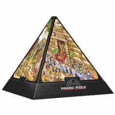 D-Toys Puzzle 504 dílků Jigsaw Puzzle - 504 dílků - 3D Pyramid - Egypt : Ca