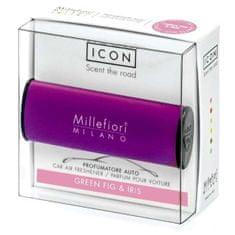 Millefiori Milano ICON vůně do auta Green Fig & Iris 47 g