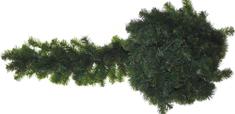 Seizis Girlanda zelená, 2,7 m, 330 konárov