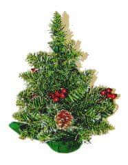 Seizis Stromek zasněžený se šiškami, zdobený 30 cm