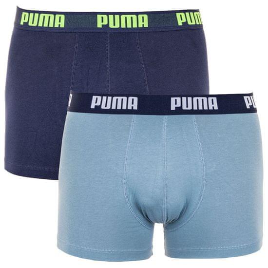 Puma 2PACK pánske boxerky viacfarebné (521015001 298) - veľkosť M