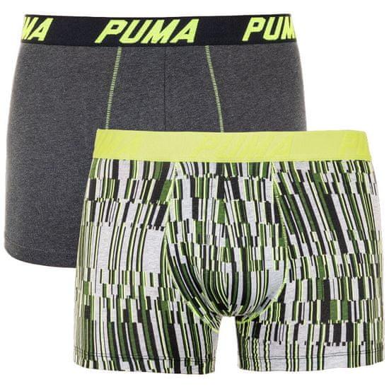 Puma 2PACK pánske boxerky viacfarebné (691003001 287) - veľkosť XL