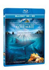 Světové přírodní dědictví: Kolumbie - Národní park Malpelo 2D+3D - Blu-ray
