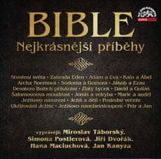Bible - Nejkrásnější příběhy - MP3-CD