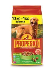 Propesko Granule pes Wellness 10+1 kg