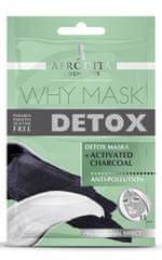 Kozmetika Afrodita Why Mask Detox maska za obraz, 2x 6 ml