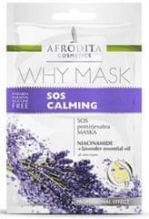 Kozmetika Afrodita Why Mask, SOS pomirjevalna maska, 2x 6 ml