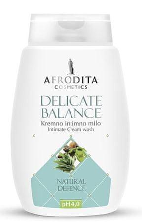 Kozmetika Afrodita Delicate Balance, kremno intimno milo, 200 ml