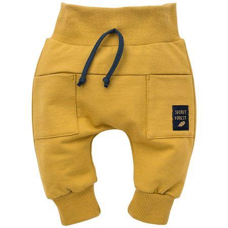 Pinokio gyerek nadrág Secret Forest 68 sárga