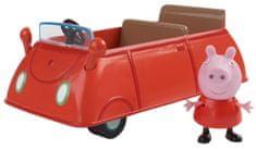 TM Toys Peppa Pig - családi autó + figura