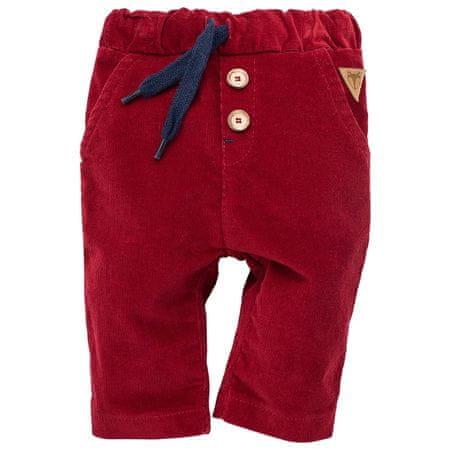 PINOKIO detské nohavice Secret Forest 62 červená