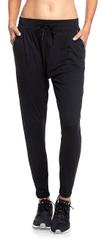 ROXY Damskie spodnie dresowe Jungle Root z 2 True Black ERJNP03254-KVJ0