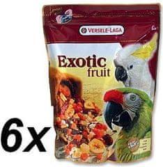 Versele Laga Exotic Fruit, Papagájeleség 6x600g