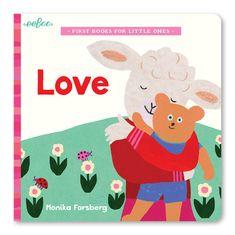 eeBoo První dětská knížka - Láska