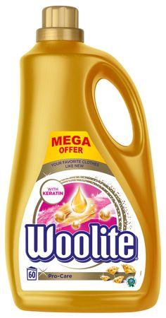 Woolite Pro-Care pralni detergent, 3.6 l / 60 pralnih odmerkov