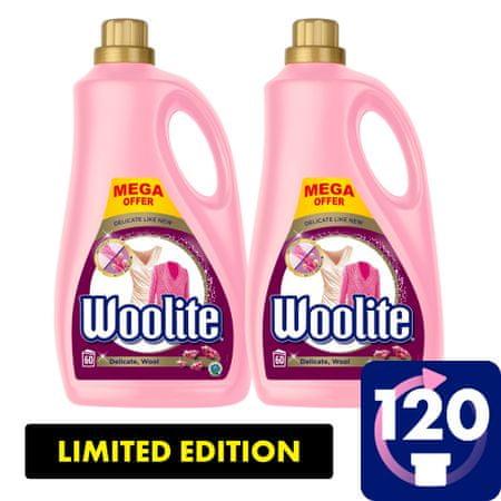 Woolite Delicate & Wool detergent, 7.2 l / 120 odmerkov pranja