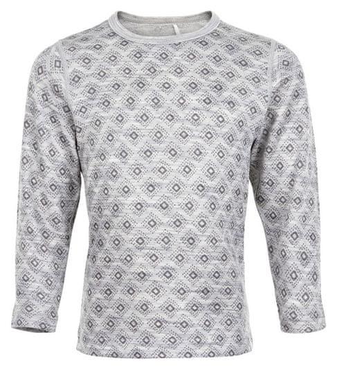 CeLaVi dětské tričko Merino/Bambus 100 šedá