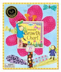 eeBoo Růstový metr - Květinka