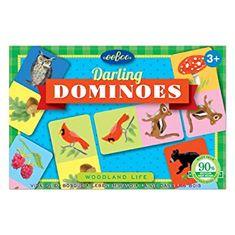 eeBoo Domino - Život v lese
