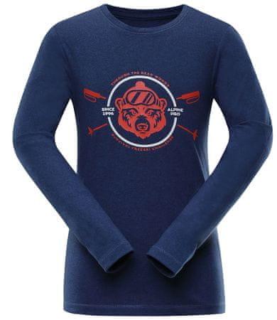 ALPINE PRO dětské tričko Teofilo 8 92/98 kék