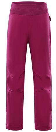 ALPINE PRO dievčenské nohavice Ocio INS. 92/98 ružová