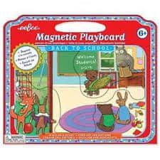 eeBoo Magnetická hra/divadélko - Zpátky do školy