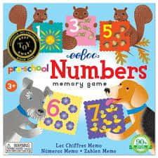 eeBoo Pexeso pro předškoláky - Čísla